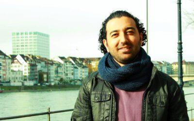 Rstam Aloush, Kurde aus Syrien