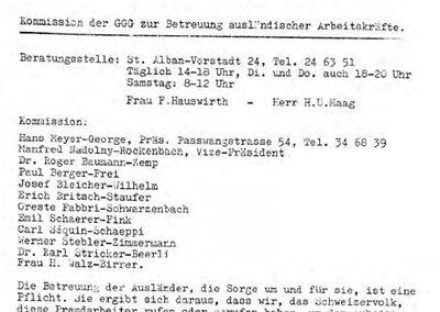 Jahresberichte 1962-1969